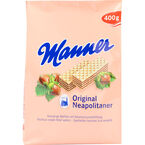 Manner Wafers - Hazelnut - 400g