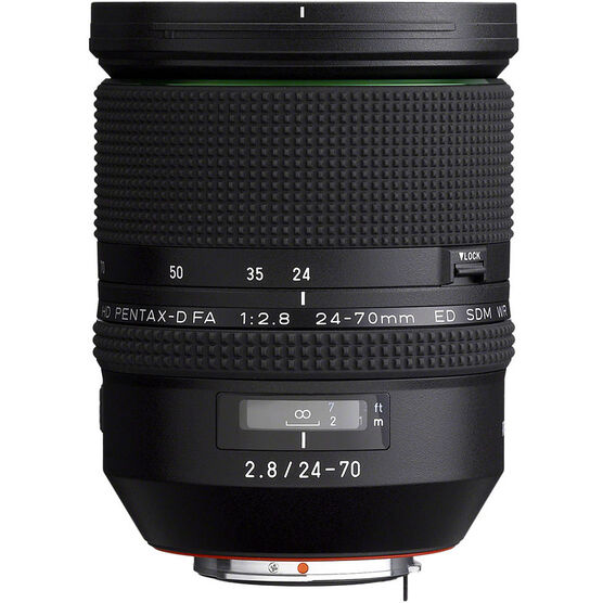Pentax-D FA 24-70mm F2.8 ED SDM WR Lens - 21310