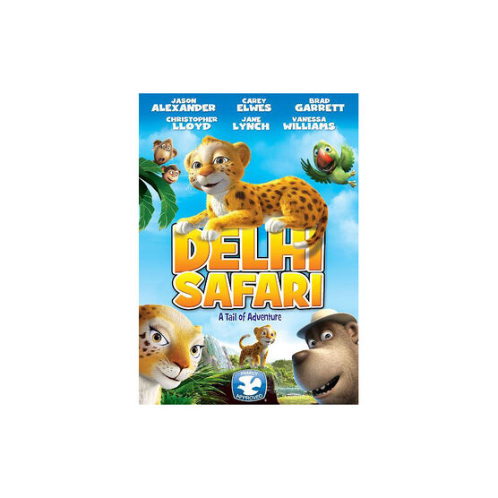 Delhi Safari - A Tail Of Adventure - DVD