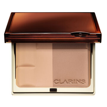 Clarins Bronzing Duo SPF 15 Mineral Powder Compact - Light