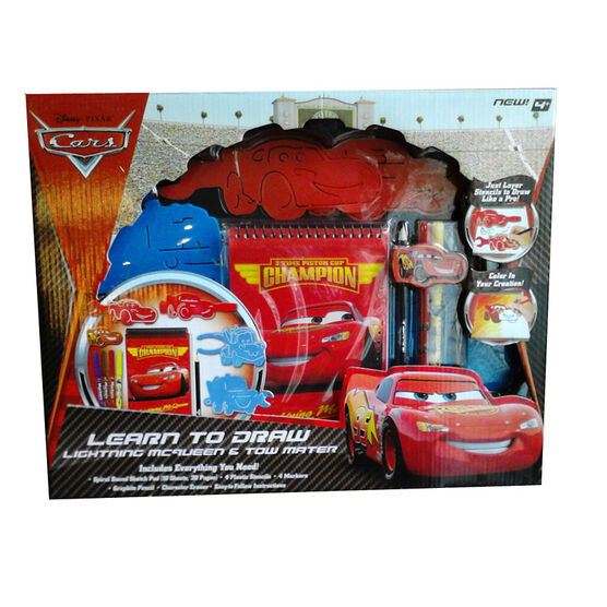 Cars Stationary Set - Assorted