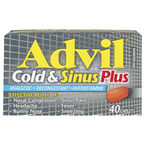 Advil & Cold Sinus Plus - 40's