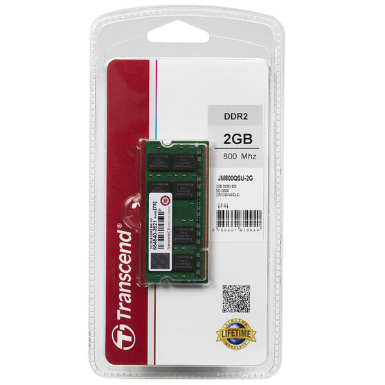 Transcend DDR2 800 2GB SO-D - JM800QSU-2G