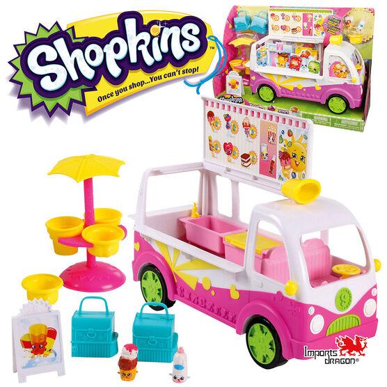 Shopkins Street Van Playset