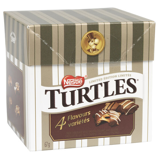 Nestle Turtles - Assorted - 67g