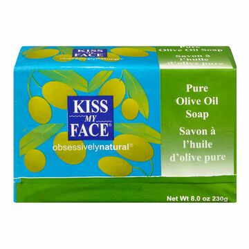 Kiss My Face Pure Olive Oil Bar Soap - 230 g