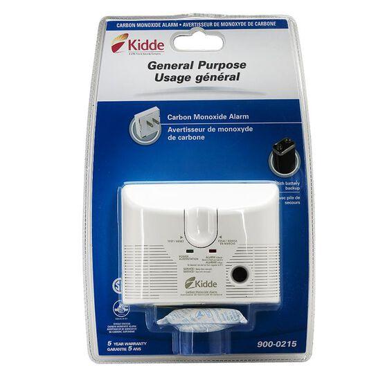 Kidde Plug-in Carbon Monoxide Alarm with Battery Backup - 900-0215-005