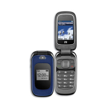 Fido ZTE Z222 Prepaid Phone - Blue - Z222BLUFGRAB