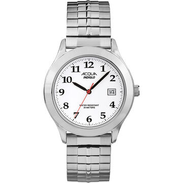 Timex Acqua Watch - White/Silver - AA3C7600070
