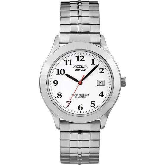 Timex Acqua Watch - White/Silver - AA3C7600070