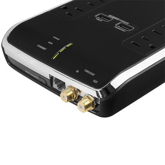 Monster Power Black Platinum 600 - 6 outlet - MPBPL600EF