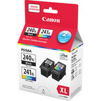 Canon PG-240XL and CL-241XL Ink Value Pack