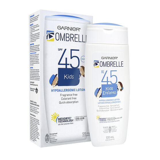 Ombrelle Kids Water Resistant Lotion - SPF 45 - 120ml