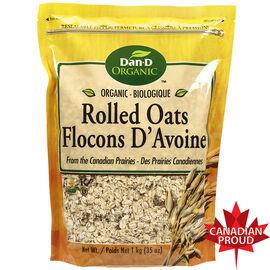 Dan-D-Pak Organic Rolled Oats - 1kg