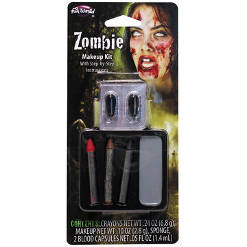 Halloween Zombie Makeup Kit