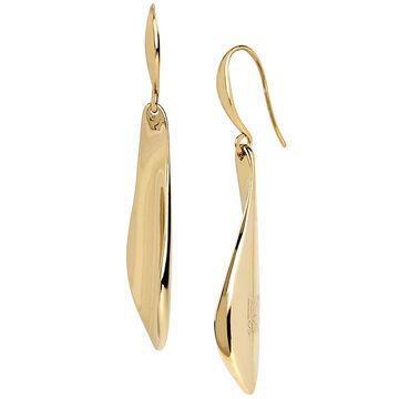 Robert Lee Morris Paddle Drop Earrings - Bronze