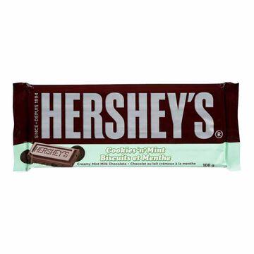 Hershey Cookies N Mint Bar - 100g