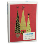 Unicef Christmas Cards - Christmas Trees - 12 pack