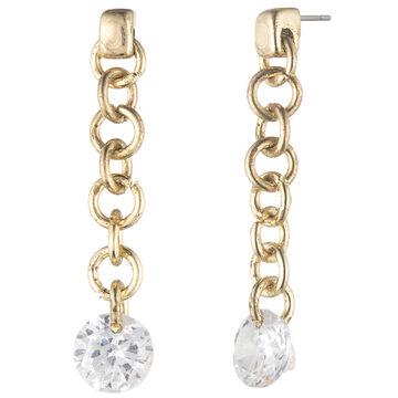 Lonna & Lilly Linear Earrings - Crystal