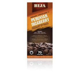 Bija Organic Chocolate - Peruvian Incaberry - 90g
