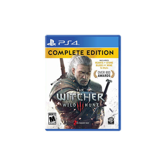 PS4 The Witcher 3: Wild Hunt Complete Edition