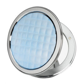 London Premiere Compact Mirror - Blue