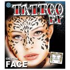 Halloween Tattoo FX Cheetah Face