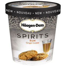 Haagen Dazs Spirits - Rum Ginger Cookie - 475ml
