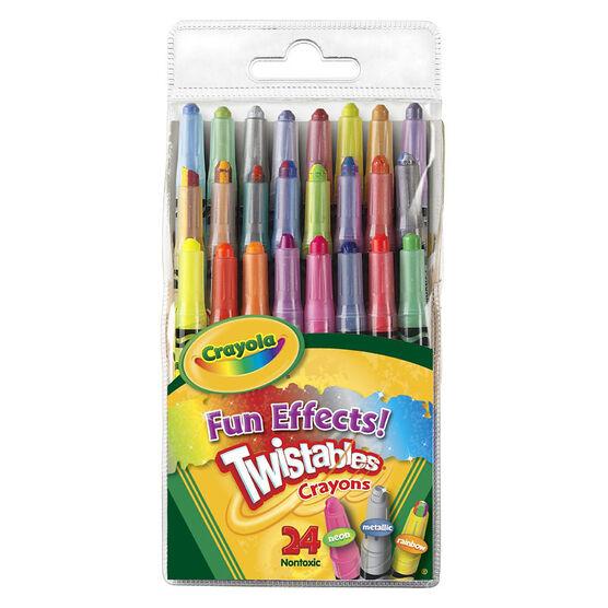 Crayola Twistables Mini Fun Effects - 24's