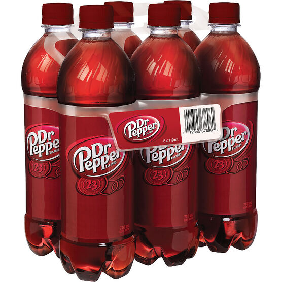 Dr. Pepper - 6 x 710ml