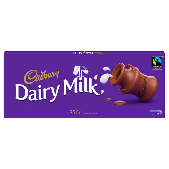 Cadbury Dairy Milk Chocolate Bar - 850g