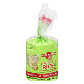 Plum-M-Good Organic Rice Thins - Salted - 12's