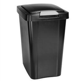 Sterilite TouchTop Wastebasket - Black - 28 L