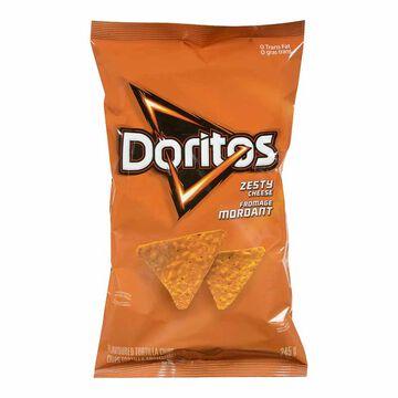 Doritos Tortilla Chips - Zesty Cheese - 245g