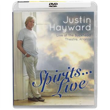 Justin Hawyard - Spirits… Live - DVD