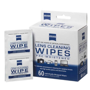 Zeiss Lens Wipes - 60 Count - 2105-353