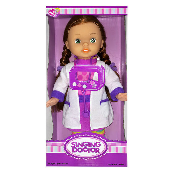 Doctor Doll with Stethoscope - 13in