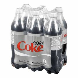 Diet Coke - 6 x 710ml