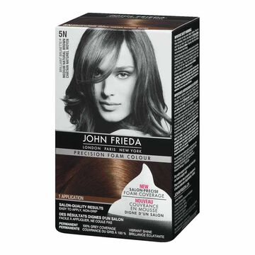 John Frieda Precision Foam Colour - 5N Medium Natural Brown