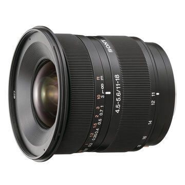 Sony DT 11-18mm f/4.5-5.6 Zoom Lens - SAL1118
