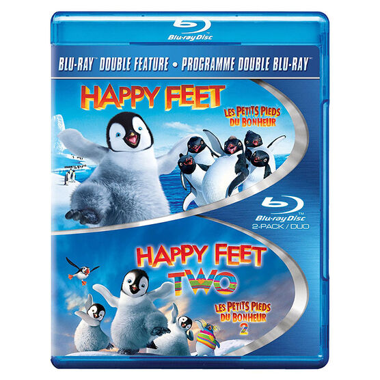 Happy Feet 1+2 - Blu-ray