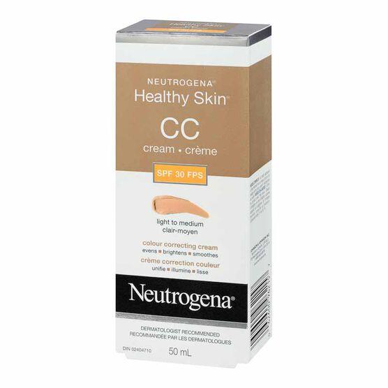 Neutrogena Healthy Skin CC Cream - Light to Medium - SPF 30 - 50ml
