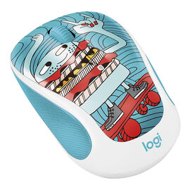 Logitech M325c Doodle Collection Wireless Mouse - SkateBurger - 910-005028