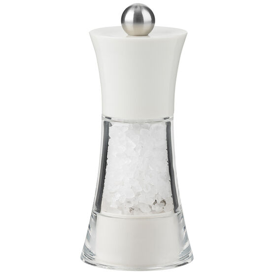 Trudeau Fiesta Salt Mill - White
