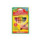 Crayola My First Triangular Crayons - 8 pack