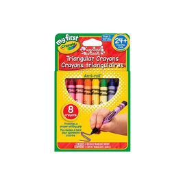 Crayola My First Triangular Crayons - 8 pack