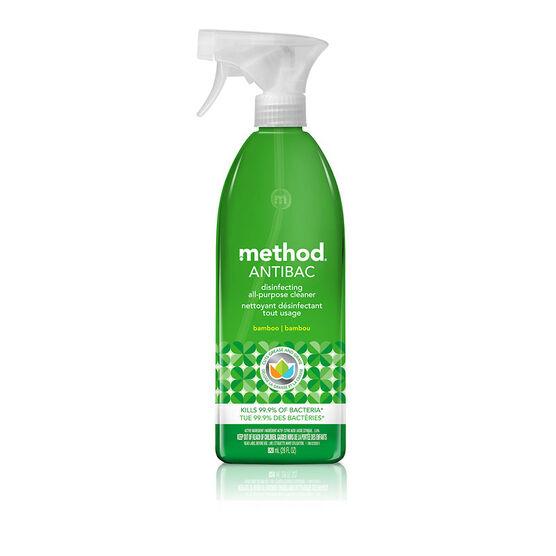 Method Antibacterial Spray - Bamboo - 828ml