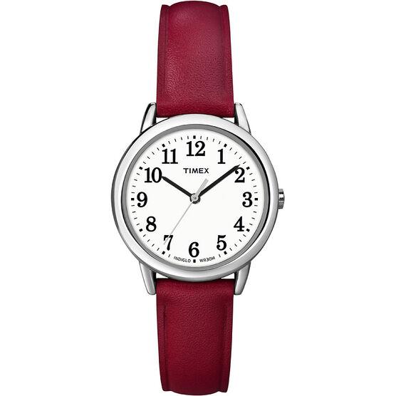 Timex Fashion Watch - White/Red - T2N952GP