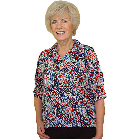 Silverts Adaptive Blouse - Womens -27090/27091