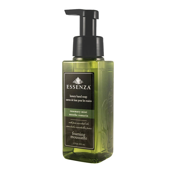 Essenza Luxury Foaming Hand Soap - Rosemary Mint - 355ml